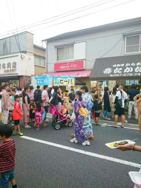 7月5日~7月7日 長浜祭(大分)
