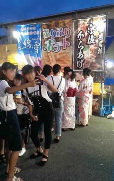 7月22日~7月23日 宇佐港祭出店(大分)
