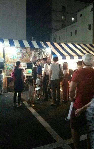 8月4日~8月5日 大分市七夕祭 府内戦紙出店(大分)