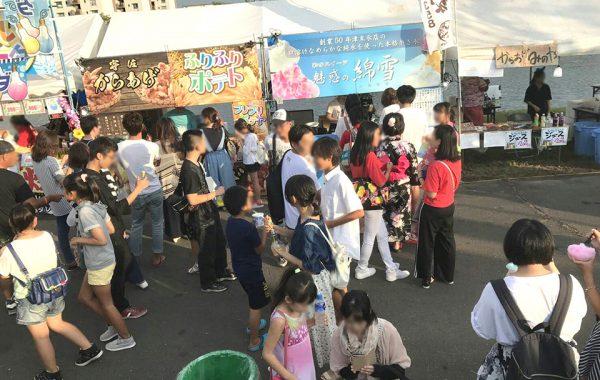8月26日 こすもっぺ花火出店(大分)