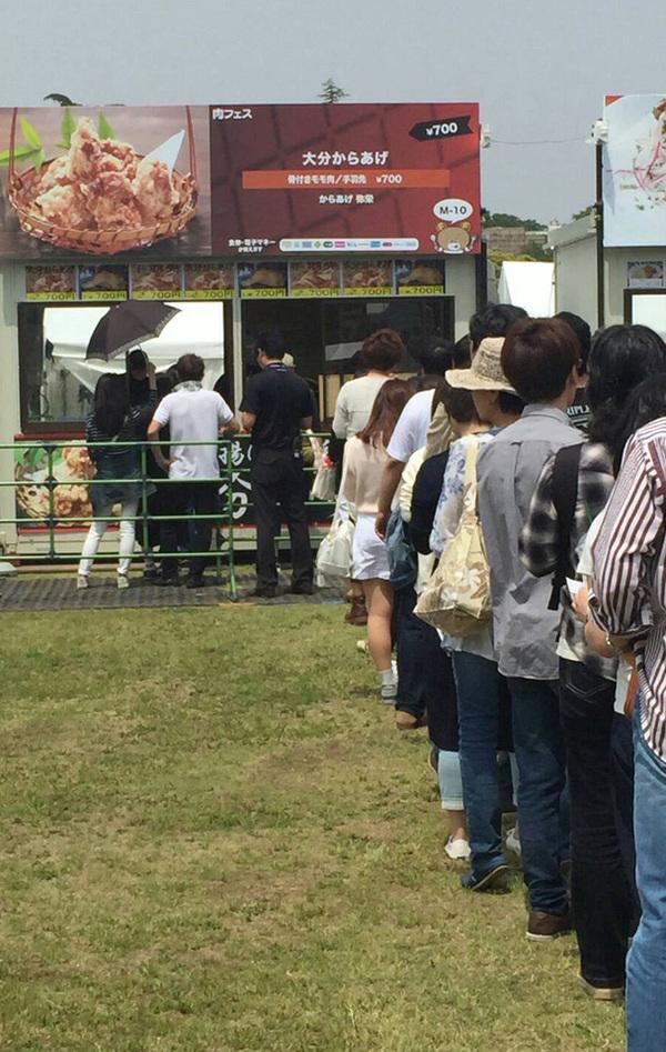 2016年5月出店イベント 5月3日~5日 肉フェス神宮外苑(東京/弥栄出店)