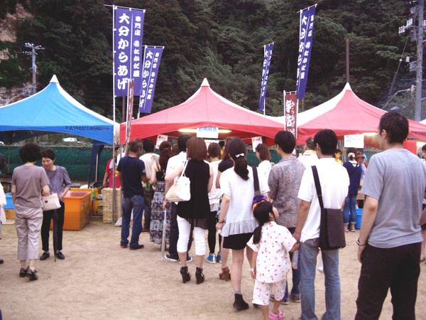 7月出店イベント 13日 越前花火大会(福井)