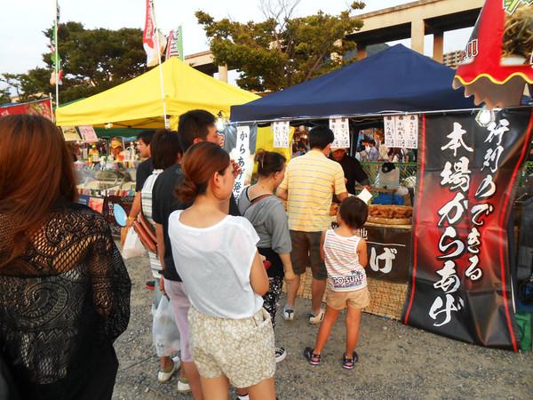 8月出店イベント 13日 関門海峡花火大会(大分)