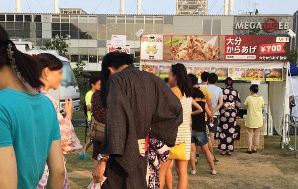 8月出店イベント 6~9日 肉フェスお台場(東京 弥栄出店)