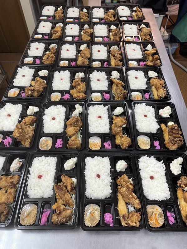 【大分のからあげ専門店】高田屋ではお弁当ご予約承っています